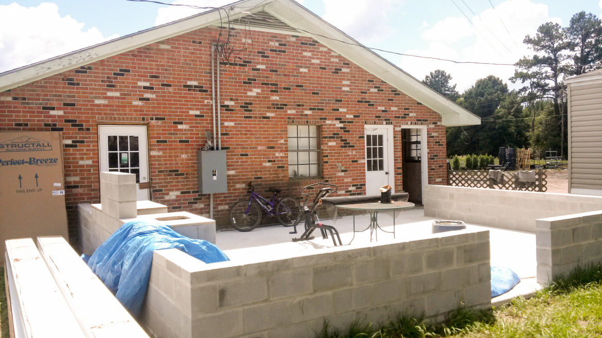 Patio Cover and Screen Room Job – Jason's Gutters